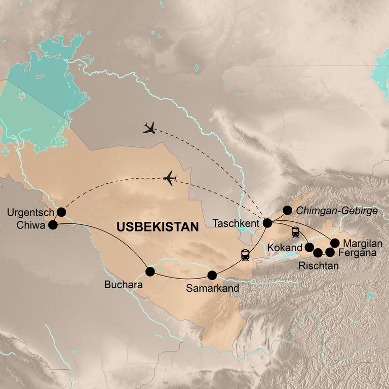Usbekistan – Zauber der Seidenstraße