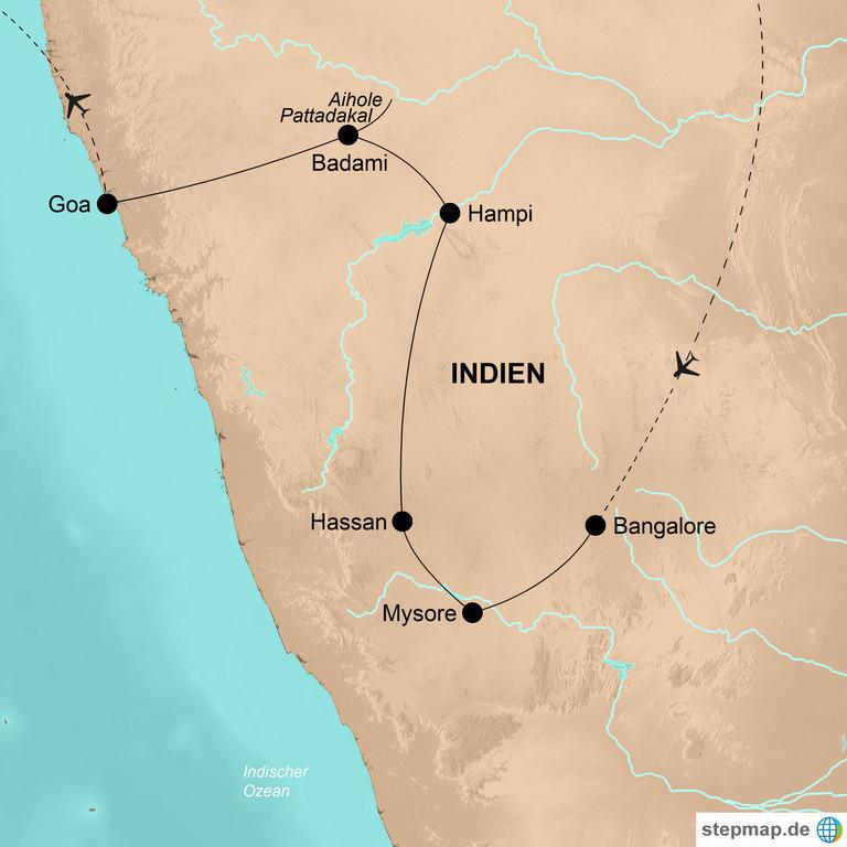 Indien: der Süden mit Goa – Indische Zauberwelten