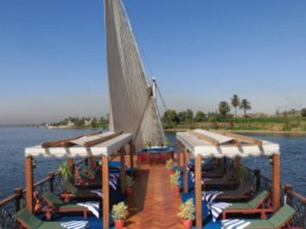 Dahabiya Merit auf dem Nil