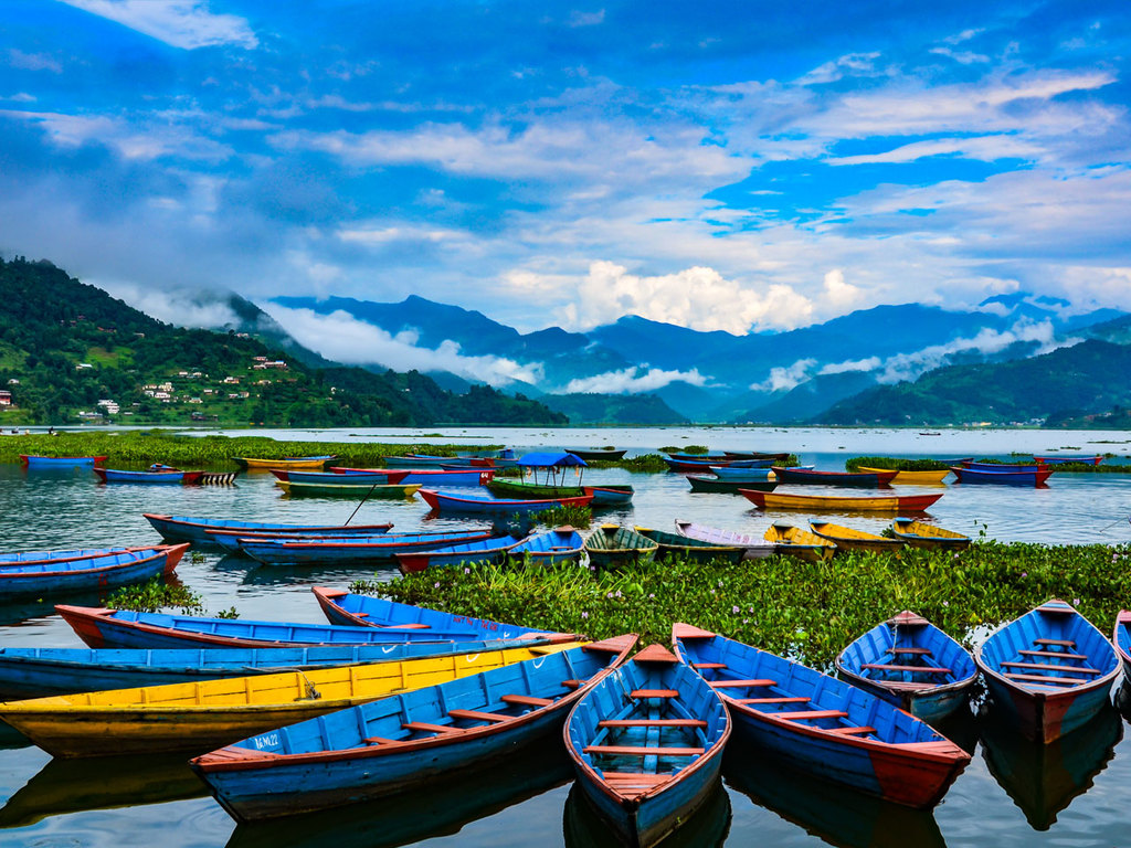 Pokhara: Bootsfahrt auf dem Phewa-See, Mountainbike-Tour, Freizeit