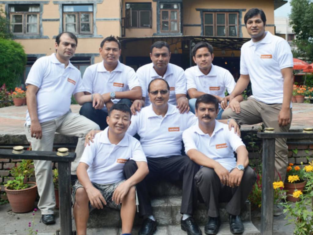 Unser Team in Nepal