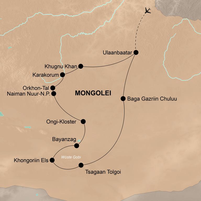 Mongolei – Nomaden und unendliche Weiten