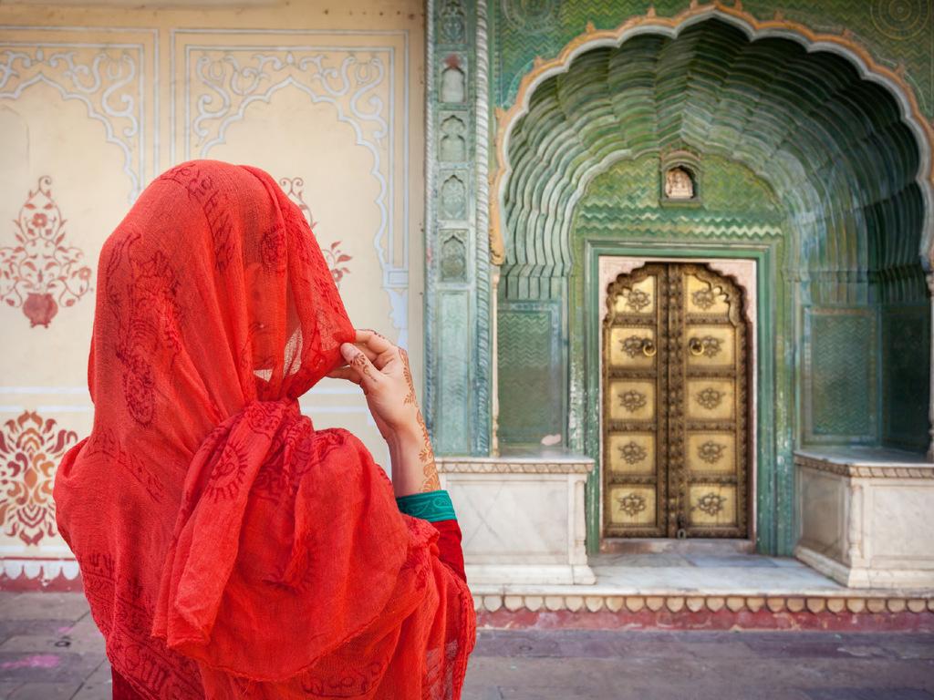 Jaipur: Palast der Winde, Amber Fort, Stadtpalast, Observatorium Jantar Mantar, Raj Mandir-Kino