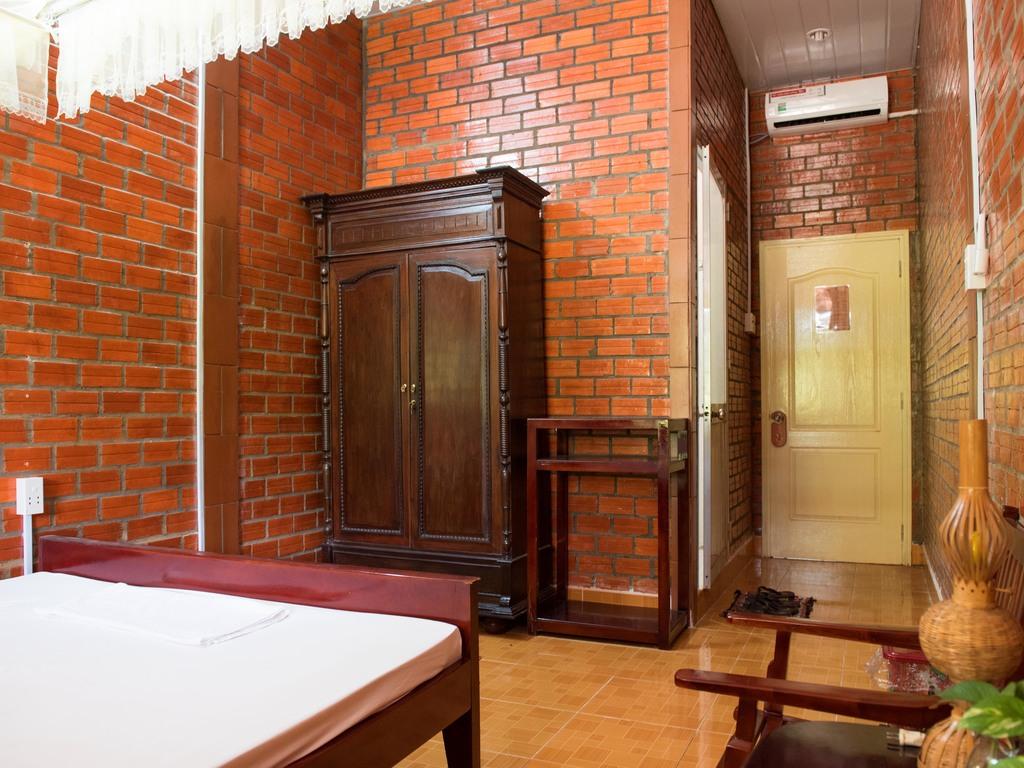 einfaches Gästehaus in Vinh Long