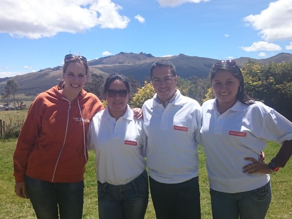 Unser Team in Ecuador