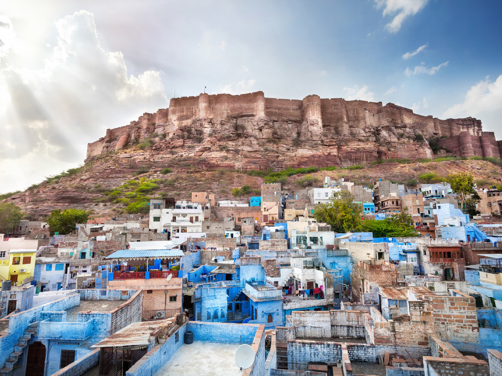 "Jaisalmer – Jodhpur: Fort Mehrangarh, Kenotaphe Jaswant Thada, ""Food Street"""