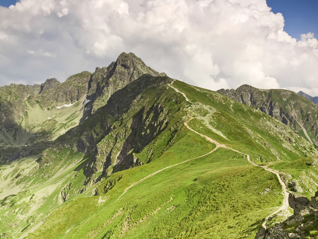 Tatra-Nationalpark: ganztägige Wanderung im Tatra-Nationalpark mit Aufstieg zum Gipfel des Kopa Kondracka