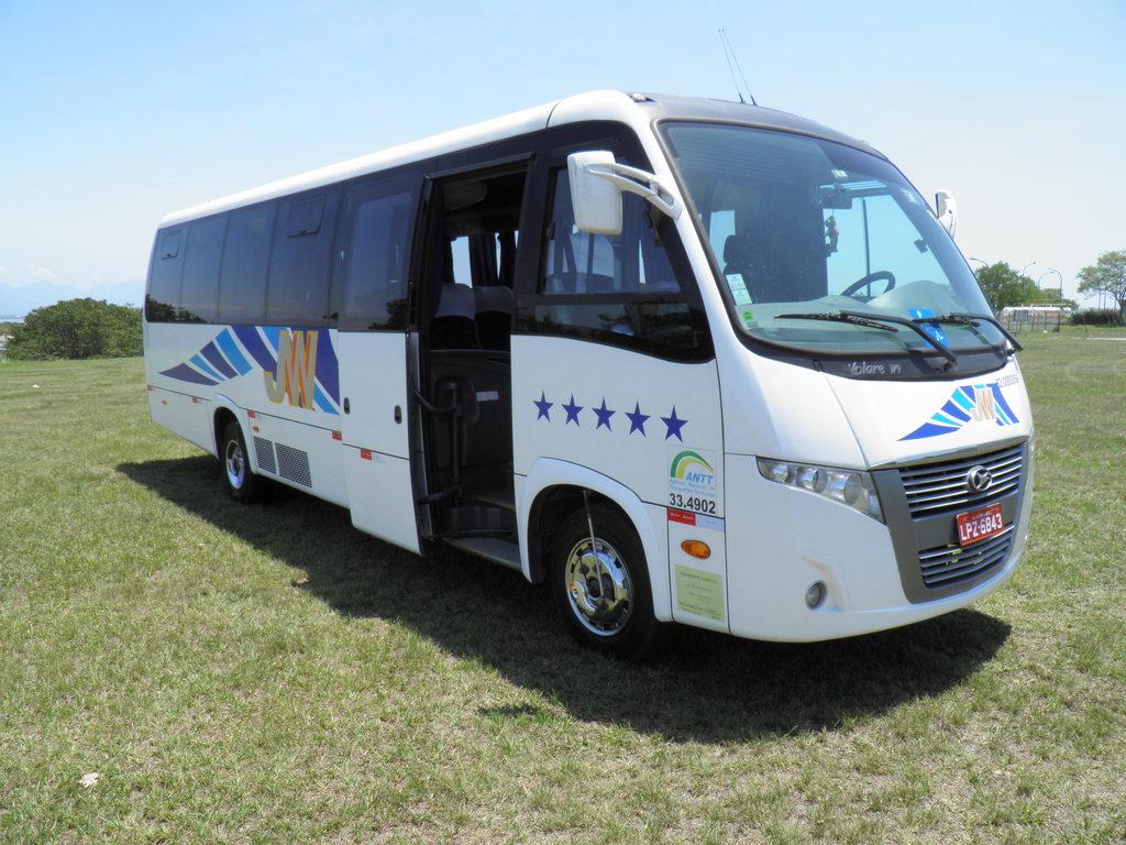 Einer unserer Minibusse in Brasilien