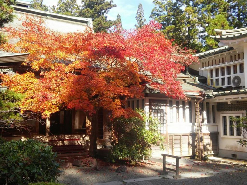 Tempelgästehaus auf dem Koya-san