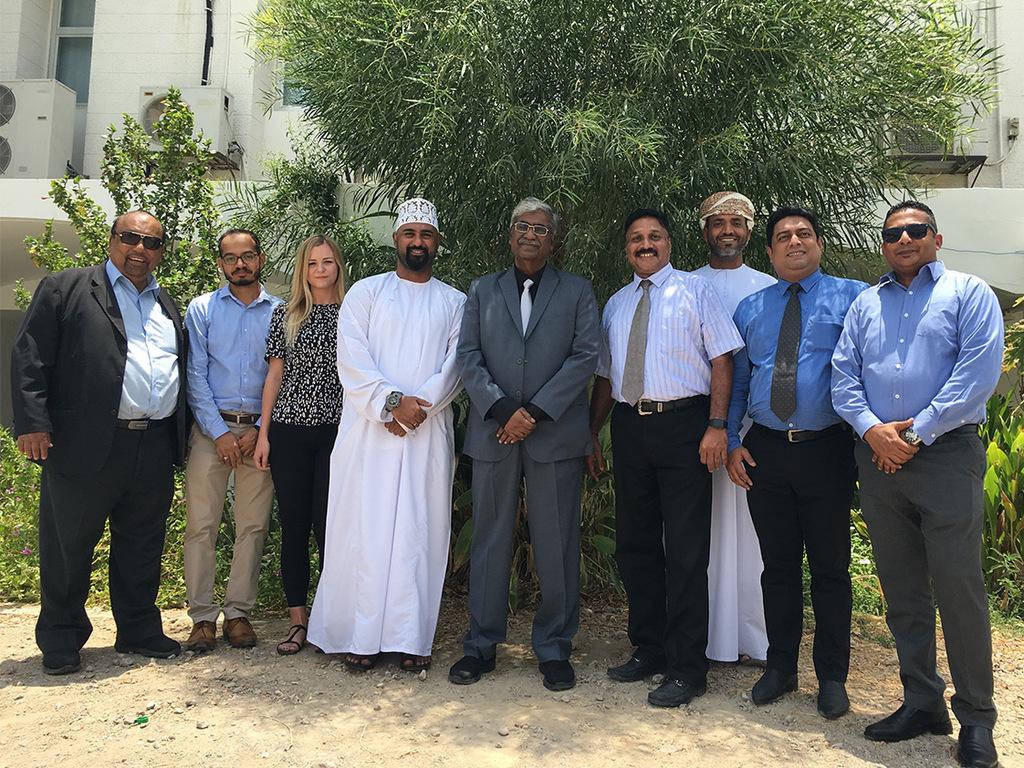 Unser Team in Oman