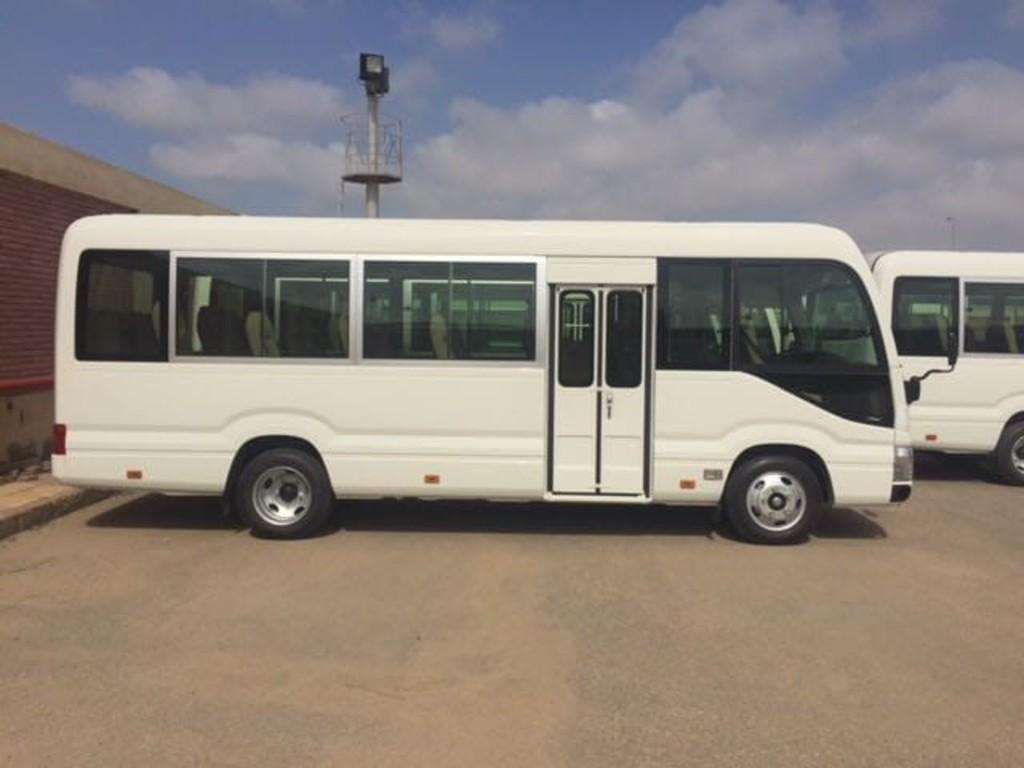 Einer unserer Busse in Ägypten