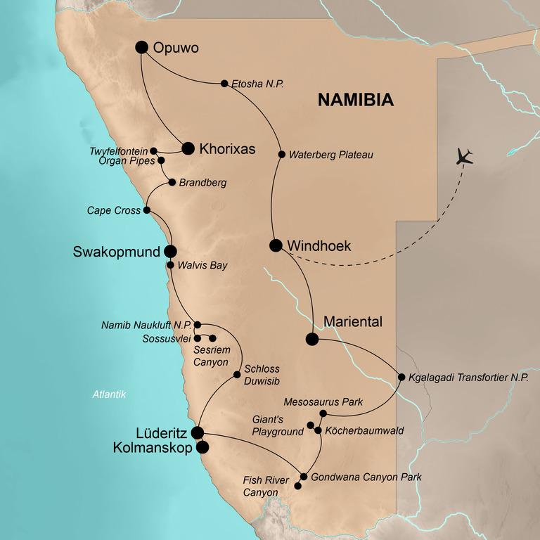 Namibia – Weites wildes Land
