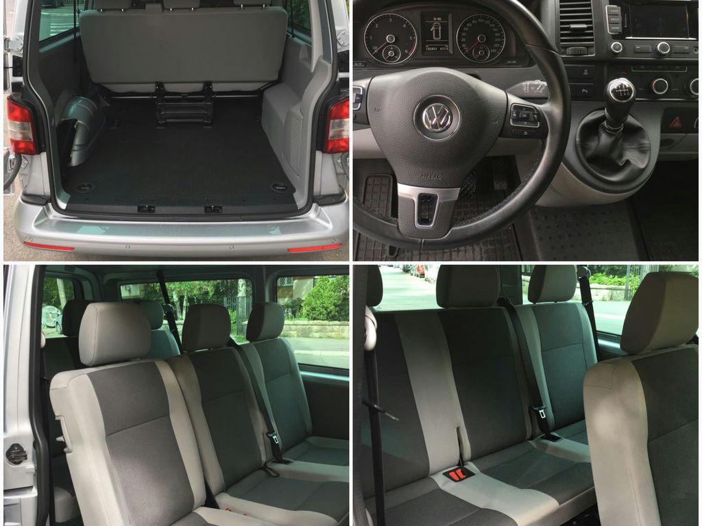 Innenansicht eines VW-Transporters