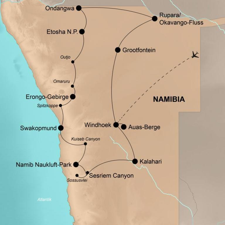 Namibia – 100 Prozent Abenteuer!