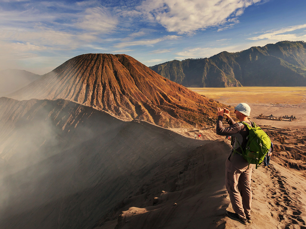 Bromo Vulkan – Kalibaru: Sonnenaufgang und Wanderung am Bromo-Krater