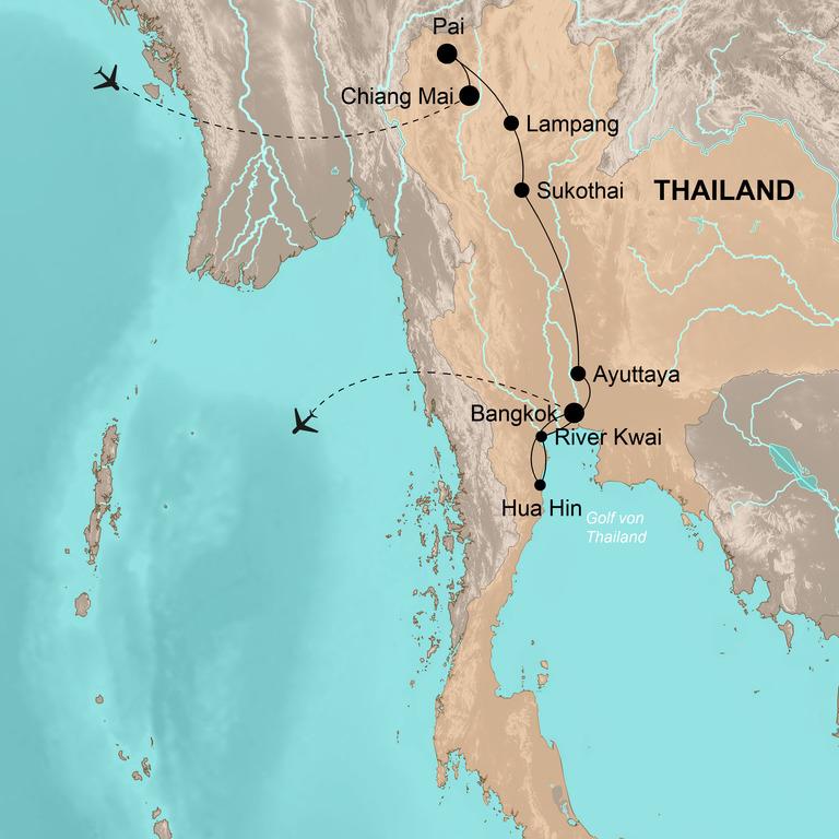 Thailand – Die Höhepunkte Siams