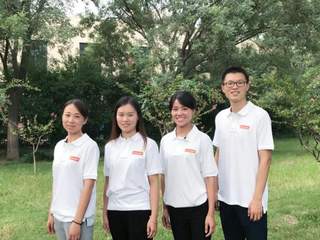Unser Team in China