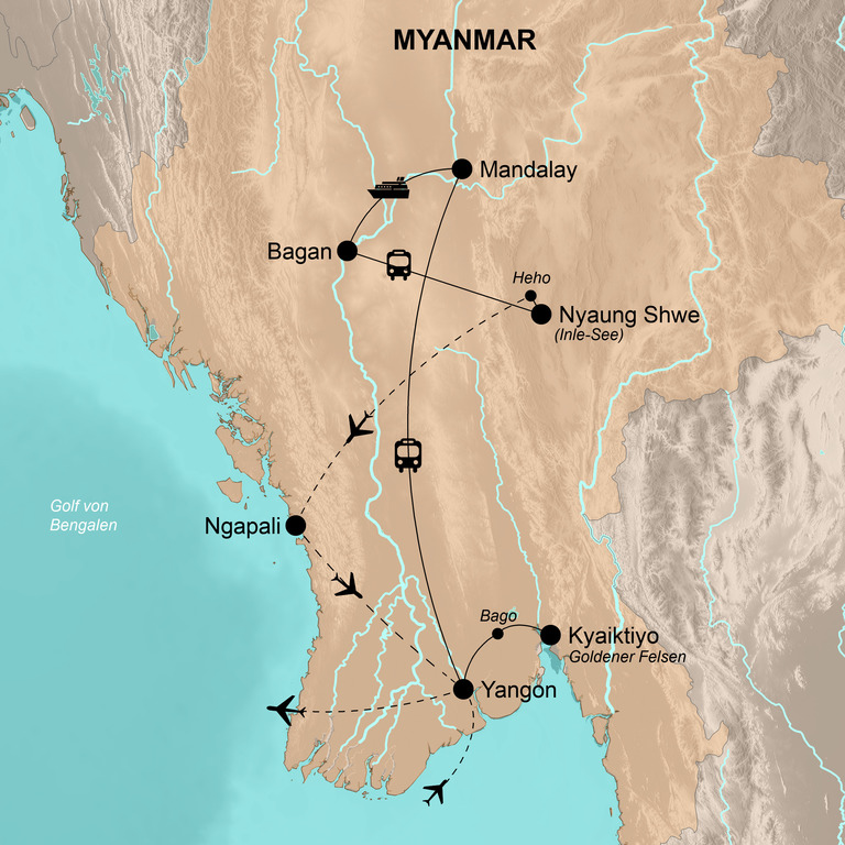 Myanmar – Deine Tage in Burma
