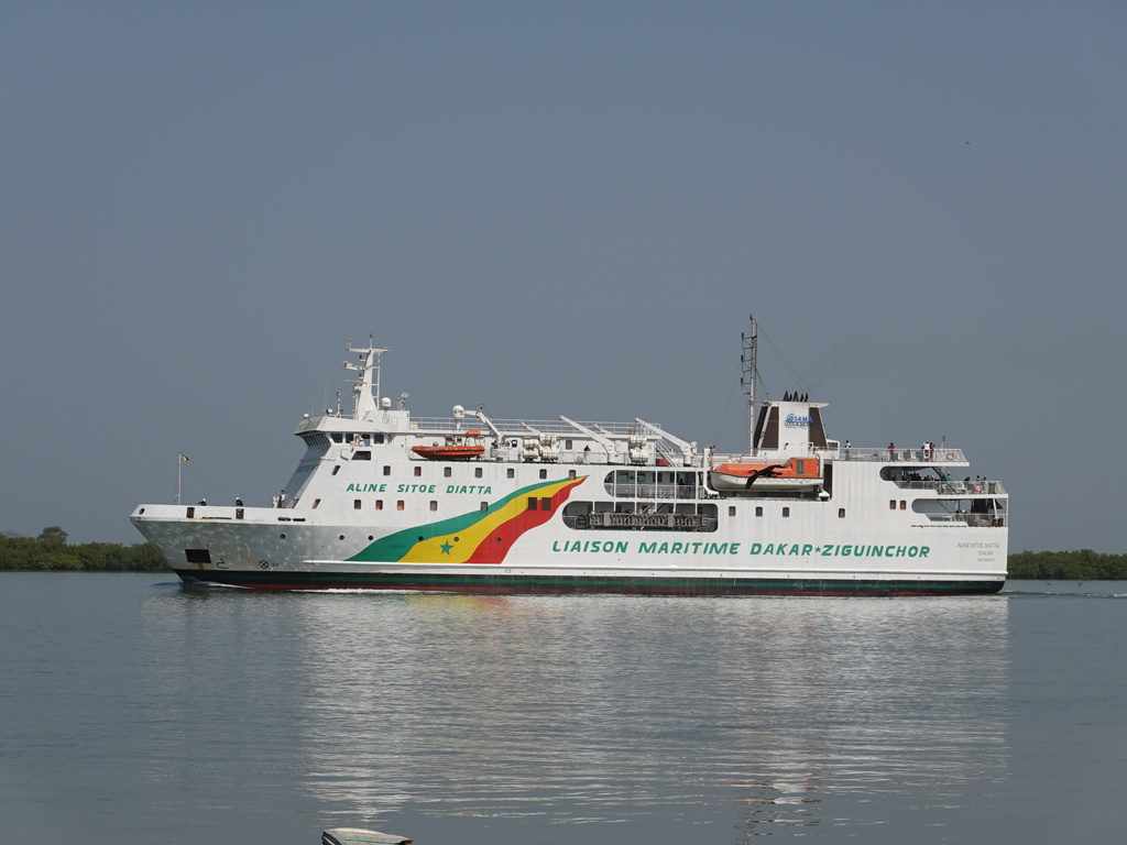 Fähre Ziguinchor - Dakar