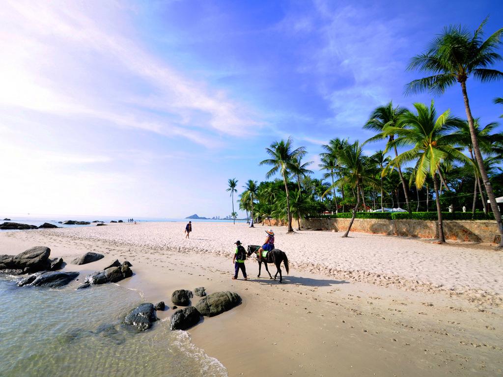 Cha Am/Hua Hin : tag zur freien Verfügung am Strand
