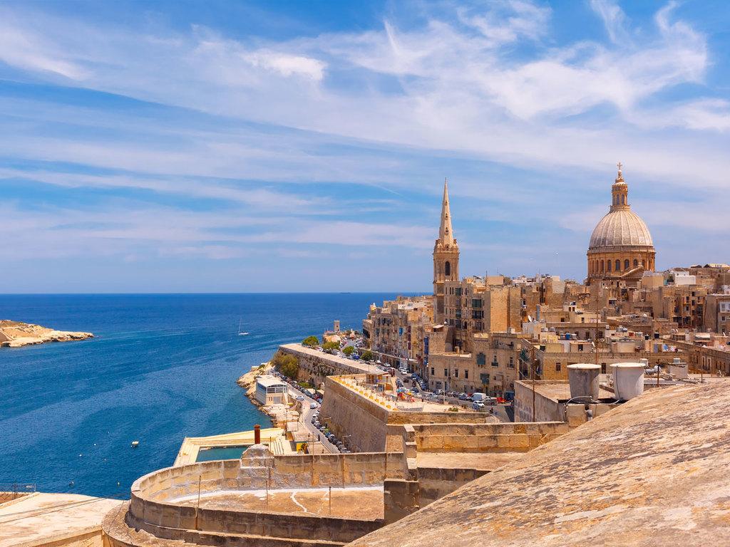 """Sliema – Valletta – Sliema: Stadtrundgang mit Besichtigungen in Valletta, Spaziergang durch die """"Drei Städte"""" Cospicua, Senglea und Vittoriosa"""
