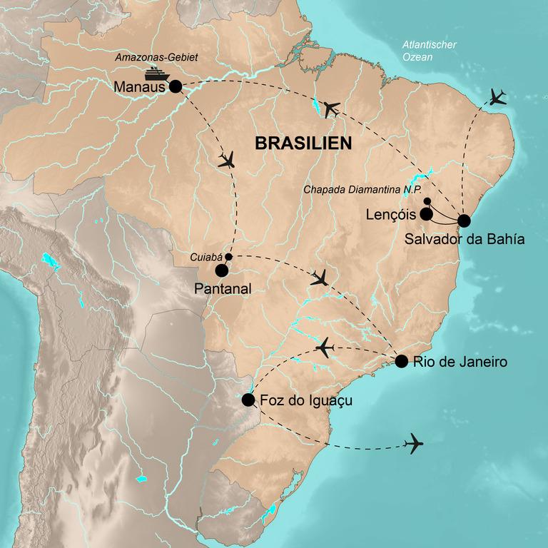 Brasilien – Das Land des Karnevals
