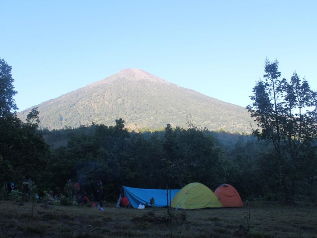 Zeltlager auf der Trekking-Tour