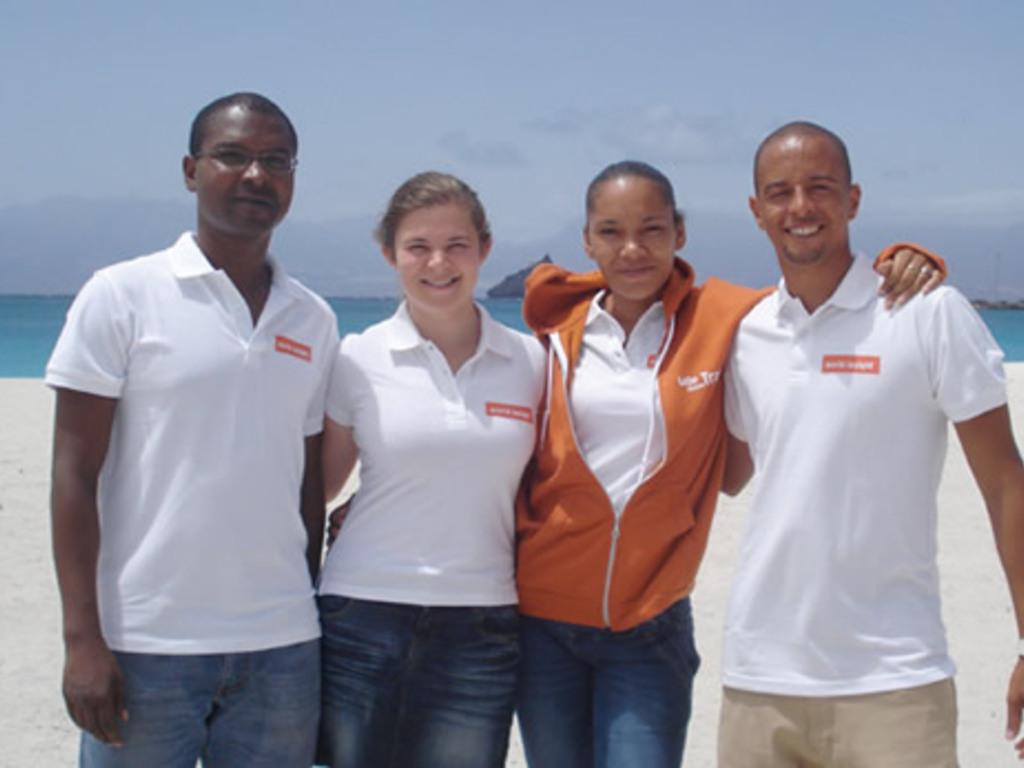Unser Team auf den Kapverdischen Inseln