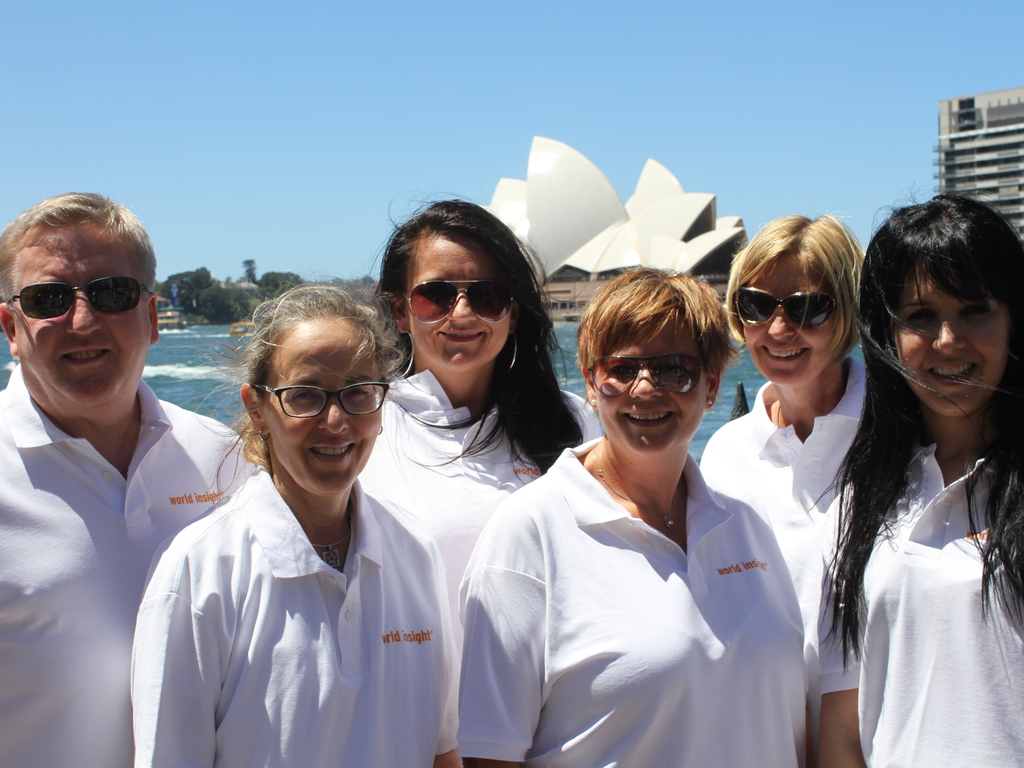 Unser Team in Australien