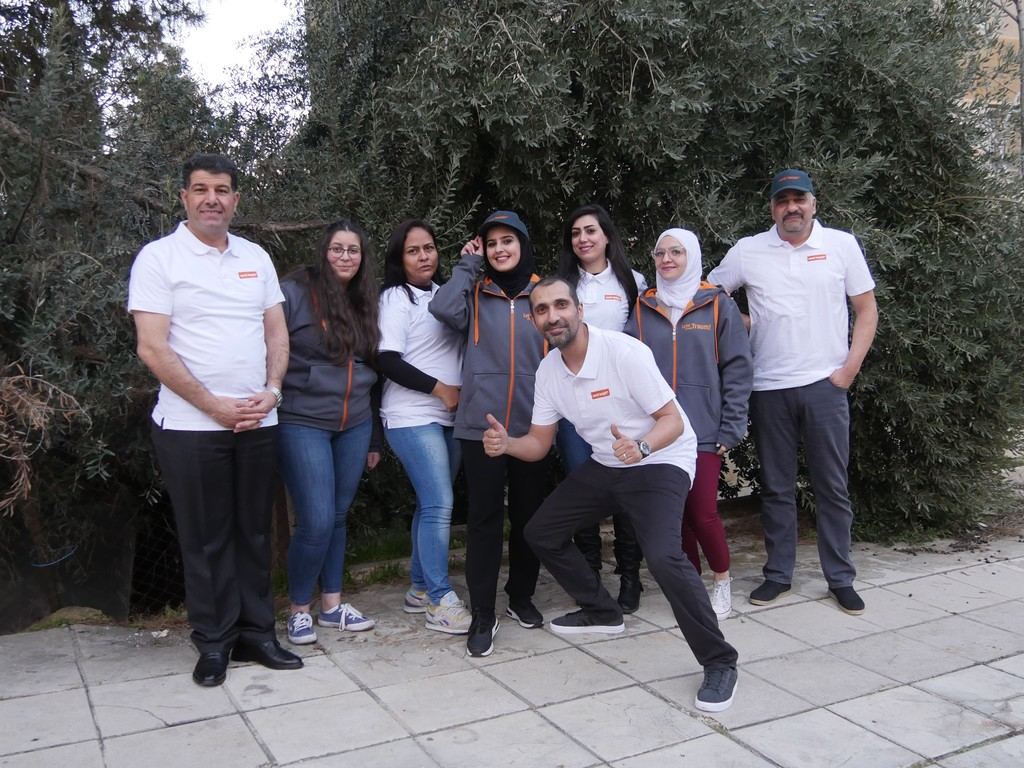 Unser Team in Jordanien