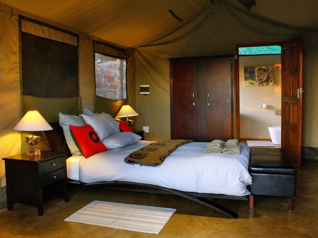 Wild Ivory Eco Lodge ***(*) im privaten Wildreservat Welgevonden