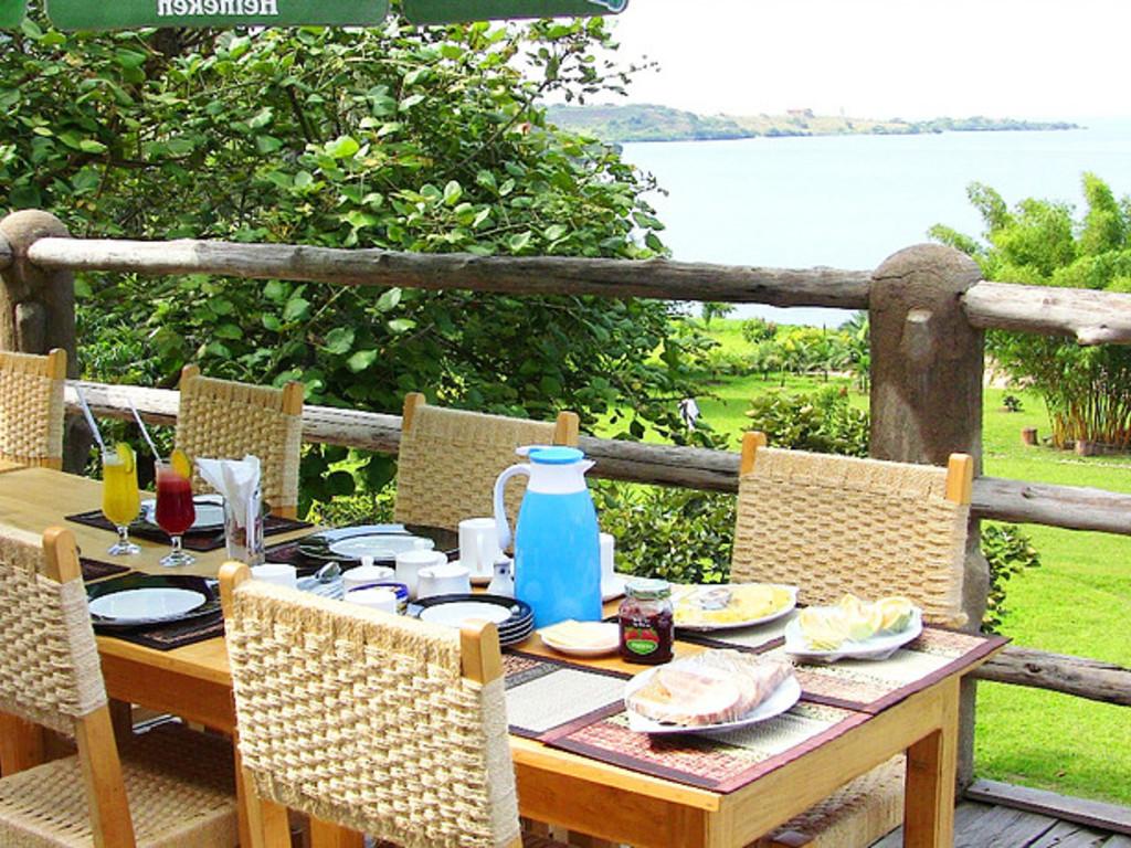 Rushel Kivu Lodge ** am Kivu-See