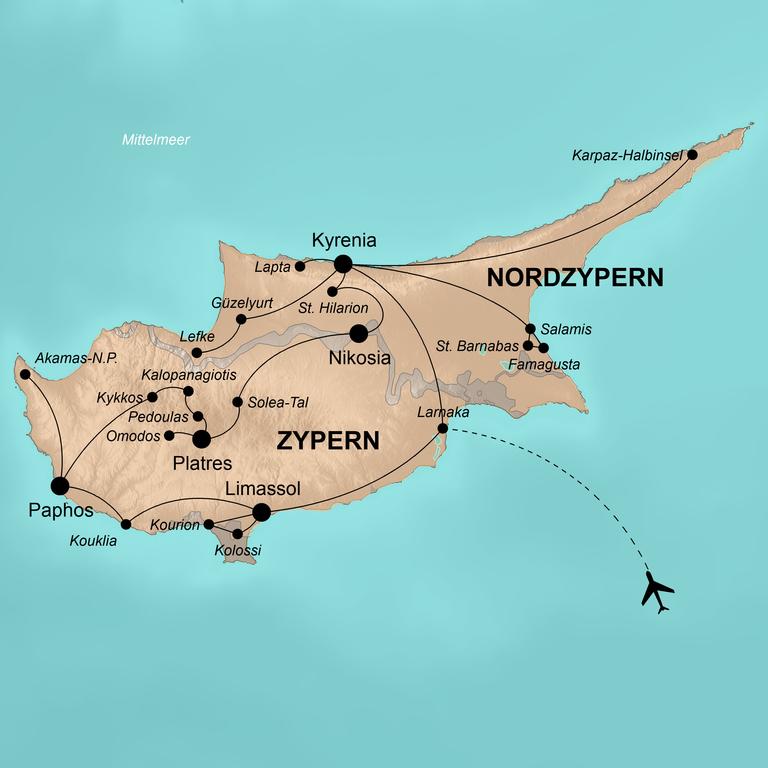 Zypern – Trauminsel zwischen Orient und Okzident