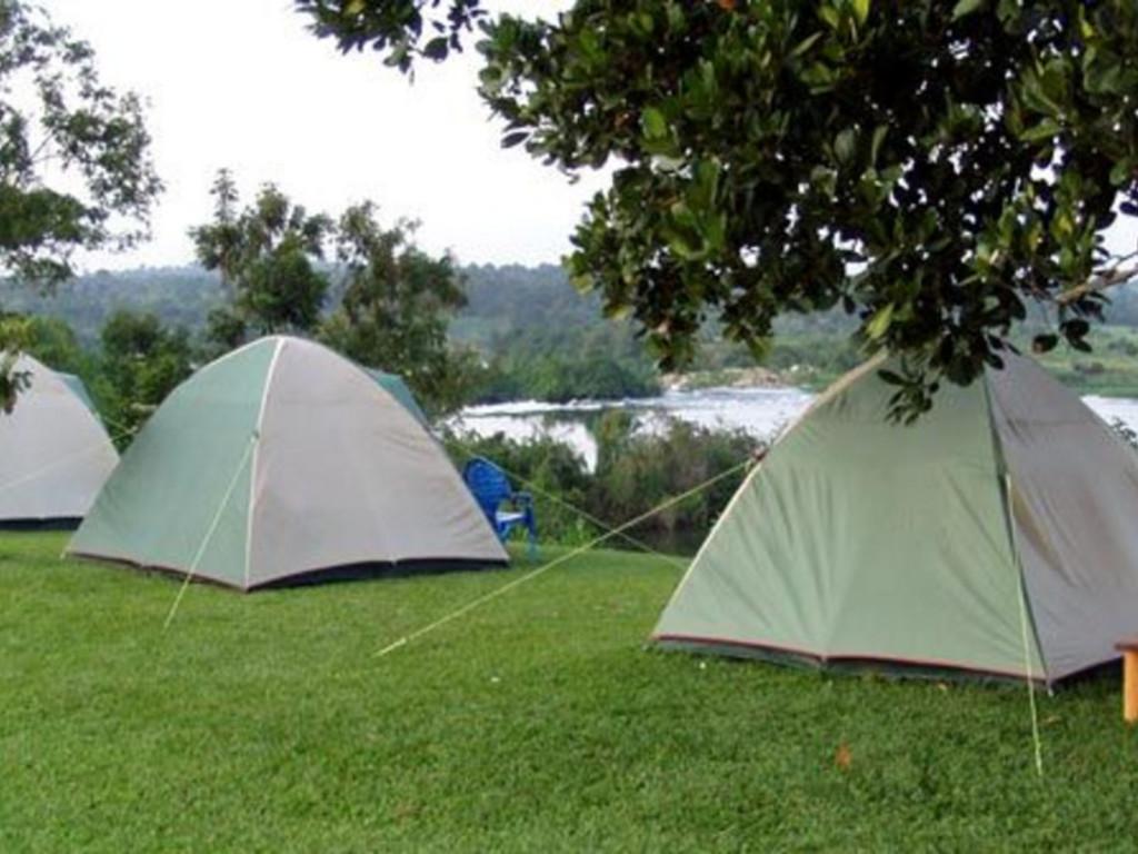 Camping bei Jinja  am Weißen Nil