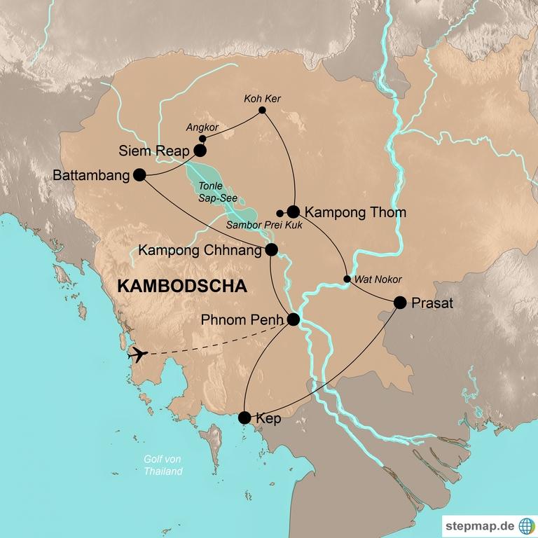 Kambodscha – Die ganze Vielfalt des Königreiches