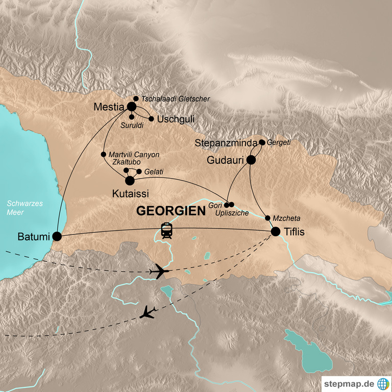 Georgien  – Abenteuer Kaukasus