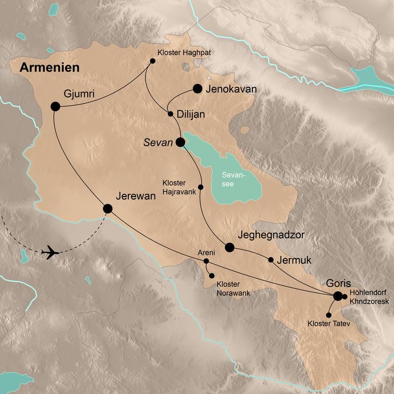 Armenien – Zwischen Ararat und Armenischer Schweiz