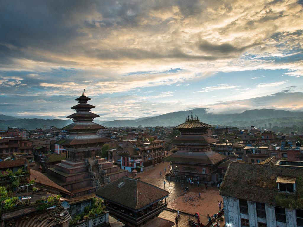 Kathmandu: Ankunft und Freizeit in Kathmandu, Welcome Drink am Abend