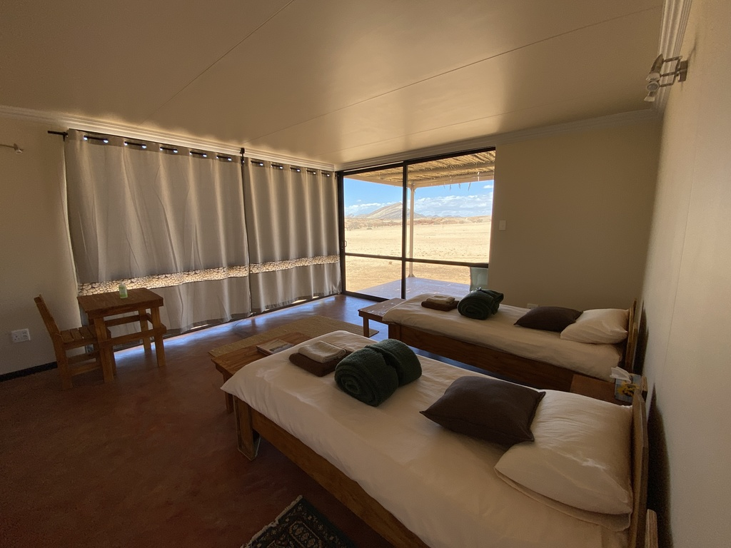Bushman's Desert Camp *** in den Naukluft-Bergen