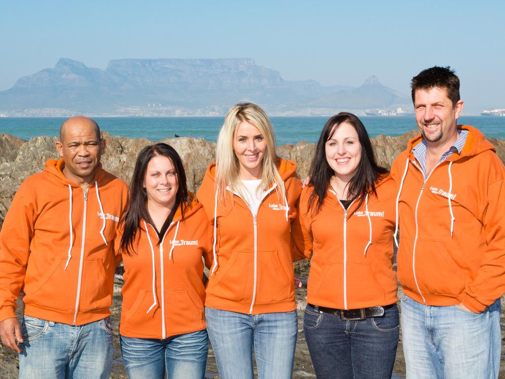 Unser Team rund um Sonja in Südafrika