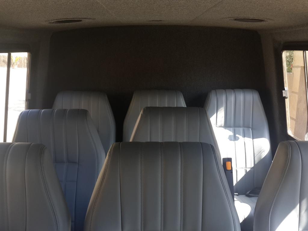 Einer der Fahrzeug Innenräume