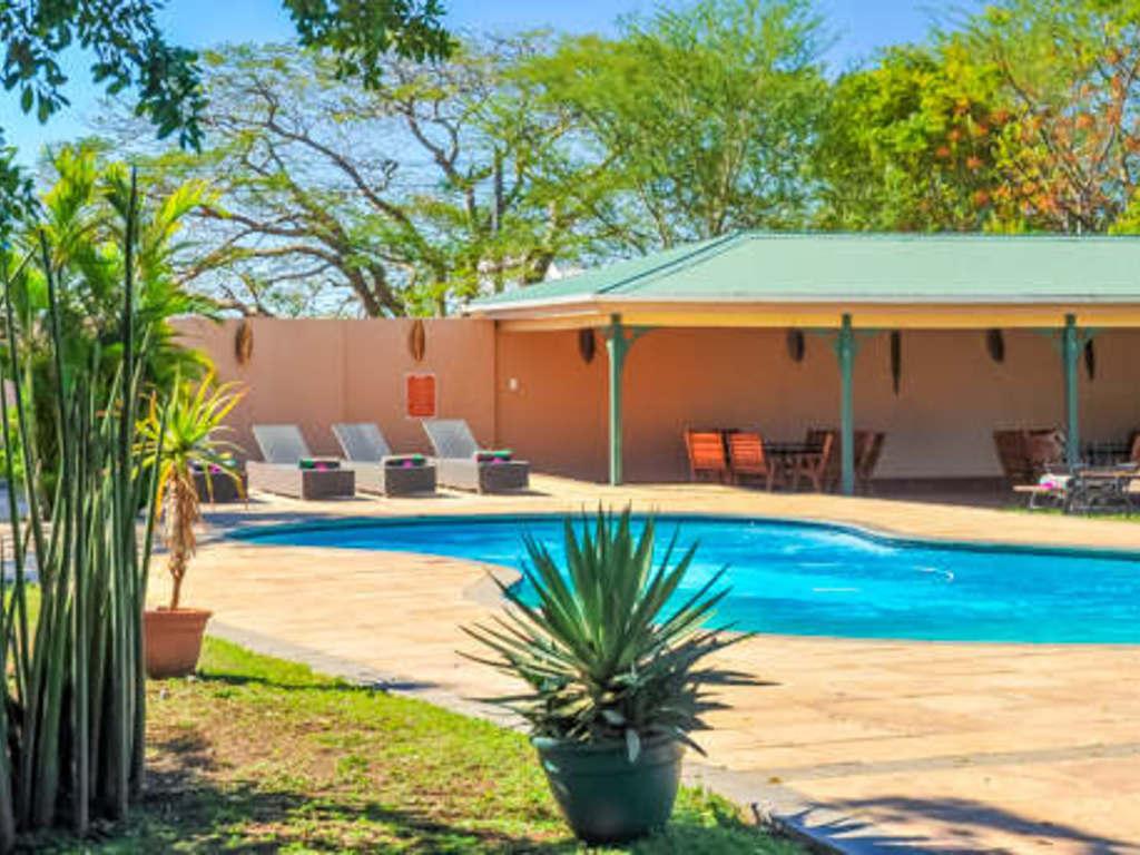 Zulu Nyala Heritage Safari Lodge ***(*) in im Zulu Nyala-Wildreservat bei Hhluluwe