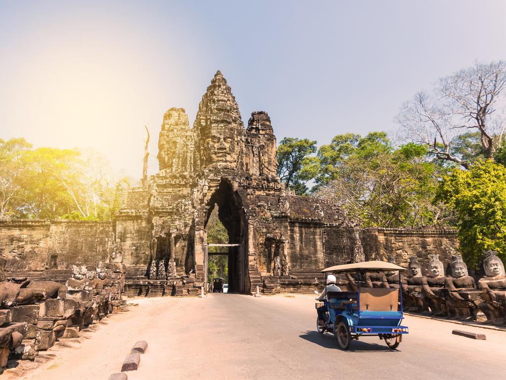 Siem Reap: mit dem Tuk Tuk durch Angkor