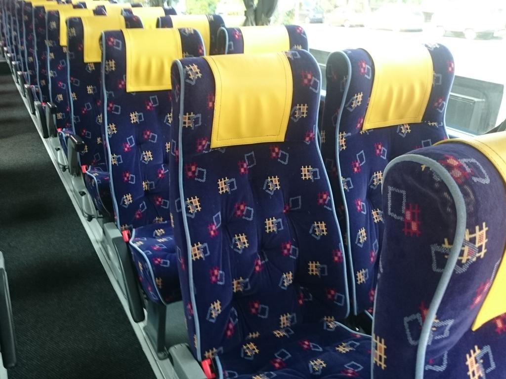 Reisebus - Innenansicht