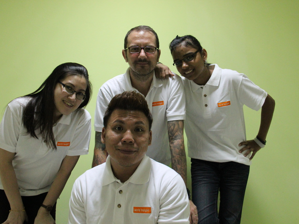 Unser Team in Malaysia