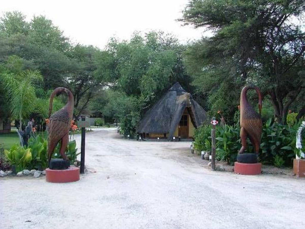 Sarasungu River Lodge **(*) bei Rundu am Kavango-Fluss
