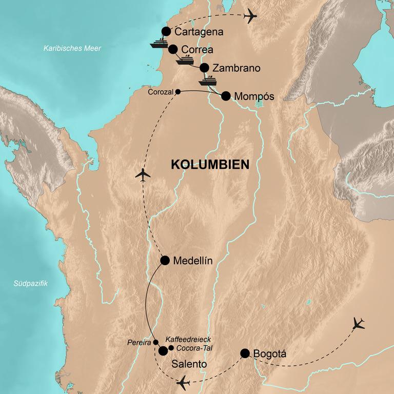 Kolumbien – Highlights und nautischer Pioniergeist