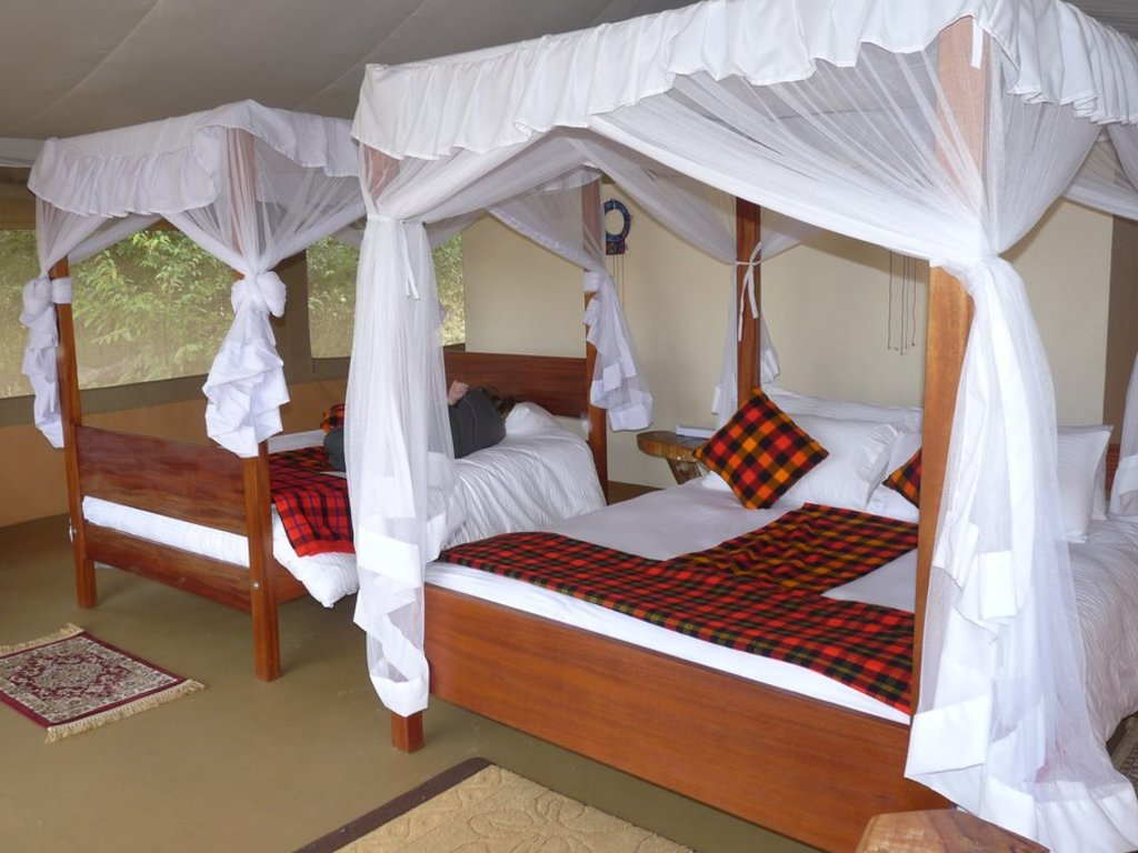 Enkorok Mara Tented Camp ** in Masai Mara-Nationalreservat