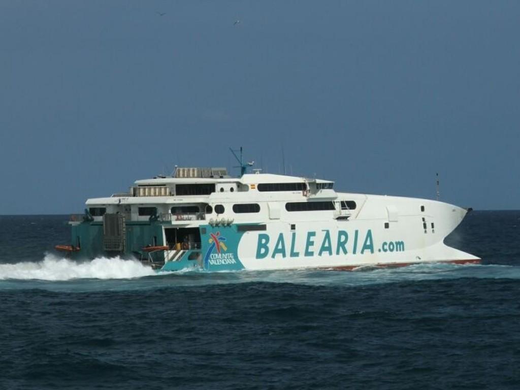 Beispielbild einer Fähre Mallorca-Menorca
