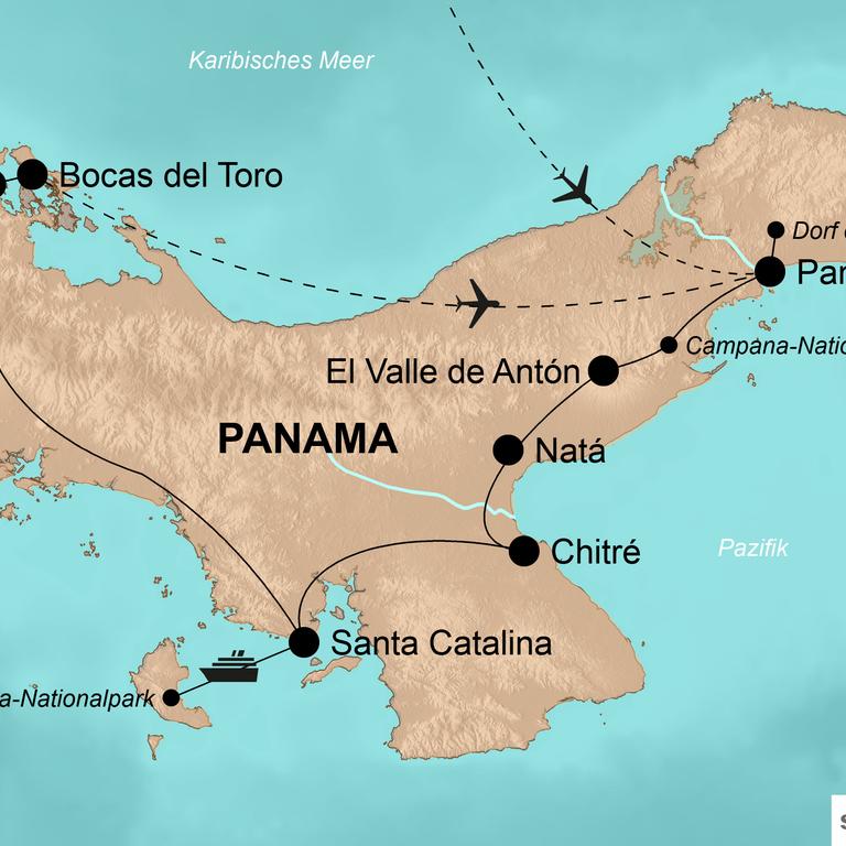 Panama – Kultur, Karibik und kulinarische Entdeckungen
